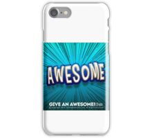 Awesome 1 iPhone Case/Skin