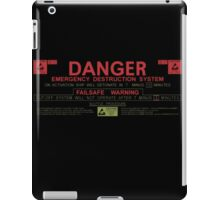 Nostromo Self Destruct iPad Case/Skin