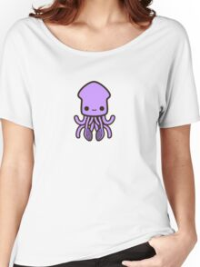 Cute purple squid Women's Relaxed Fit T-Shirt