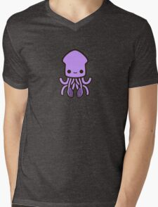 Cute purple squid Mens V-Neck T-Shirt