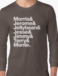 The Original 7ven Morris Day Jimmy Jam Merch Long Sleeve T-Shirt