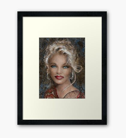 Queen Of Glamour Framed Print
