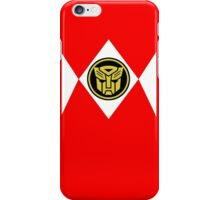 Mighty Morphin Autobot Rangers iPhone Case/Skin