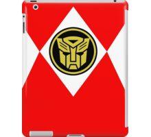 Mighty Morphin Autobot Rangers iPad Case/Skin
