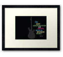 jimmy page tour dates Framed Print