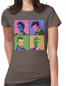 DR WARWHOL Womens Fitted T-Shirt