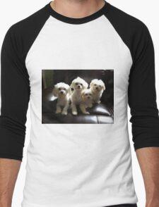 My Babies Men's Baseball ¾ T-Shirt