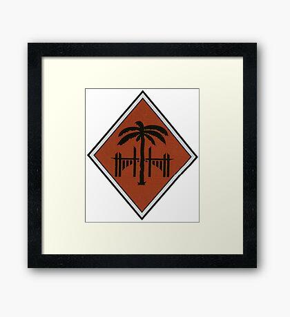 Afrika Korps Framed Print