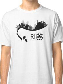Rio de Janeiro skyline looks like torch flames Classic T-Shirt