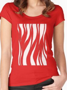 Pink Tiger Women's Fitted Scoop T-Shirt