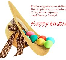 Happy Easter Card by AlexIPhotograph