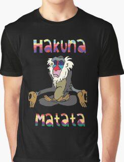 Yoga Rafiki - Hakuna Matata Graphic T-Shirt