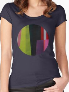 Geometrics#4 Women's Fitted Scoop T-Shirt