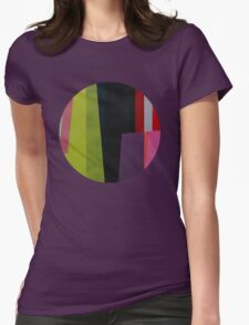 Geometrics#4 Womens Fitted T-Shirt