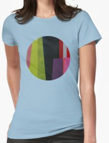 Geometrics#4 Womens Fitted T-Shirt