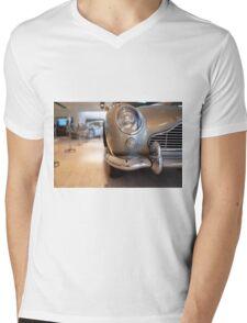 BMT 214A Mens V-Neck T-Shirt