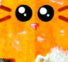 Cat Decorator Sticker