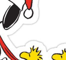Snoopy woodstock Sticker