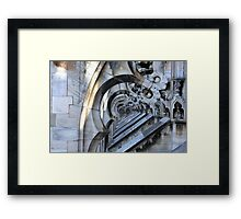 Architecture of Milano Framed Print