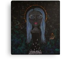 """Pop surreal art - """" Bewitched, Bothered and Bewildered """" Canvas Print"""