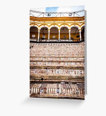 Arena Sevilla, Spain Greeting Card