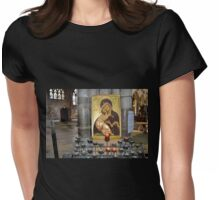 A Candle for you........Exeter Devon UK Womens Fitted T-Shirt