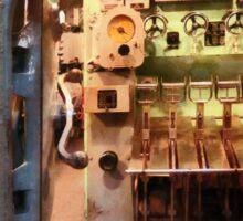 Hatch in Submarine Sticker