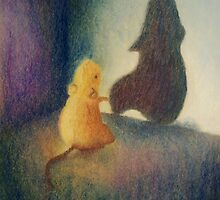 Worry Gives Small Things Big Shadows  by emilykenney