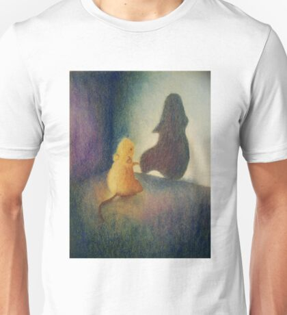 Worry Gives Small Things Big Shadows  Unisex T-Shirt