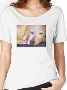 Let Sleeping Dogs Lie Women's Relaxed Fit T-Shirt