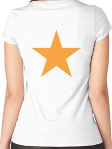 ORANGE, ORANGE STAR, Arcturus, Orange Dwarfs, Stellar, Award Women's Fitted Scoop T-Shirt