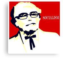 Colonel Sanders - Bernie Sanders Canvas Print