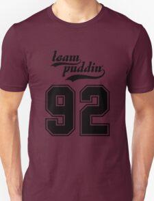 Team Puddin'! (BLACK) Unisex T-Shirt