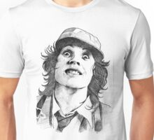 Thunderstruck Portrait Unisex T-Shirt