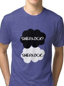 Sherlock Holmes - TFIOS Tri-blend T-Shirt