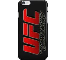 ULTIMATE FIGHTING CHAMPIONSHIP - UFC iPhone Case/Skin