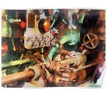 Steampunk - Torpedo Controls Poster