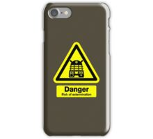 Dalek Danger! iPhone Case/Skin