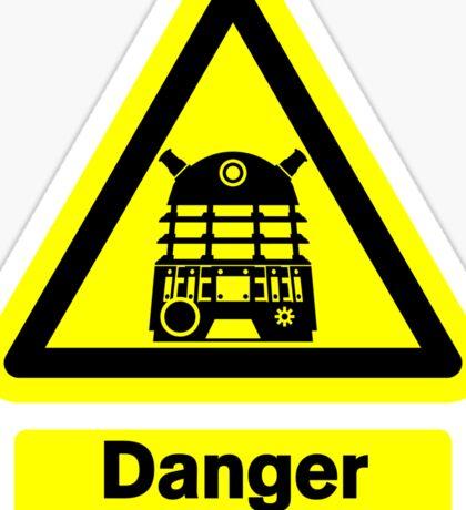 Dalek Danger! Sticker