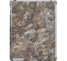 Brown rust stone texture background iPad Case/Skin