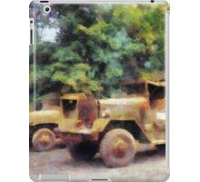 Two Army Trucks iPad Case/Skin