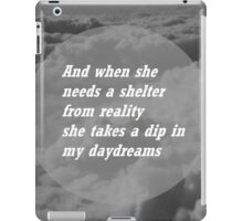 a shelter from reality iPad Case/Skin