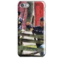 Union Soldier Loading Rifle iPhone Case/Skin