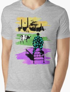 "Pink Floyd ""Momentary Heart of Thunder, Reason & Animals"" Mens V-Neck T-Shirt"