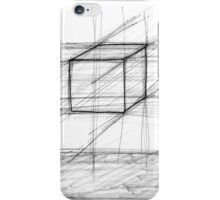 Sketch of a Cube iPhone Case/Skin