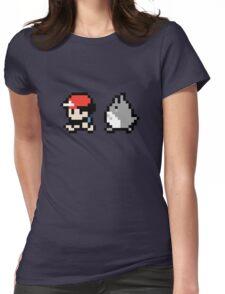 Totoro Pokemon Sprite! Womens Fitted T-Shirt