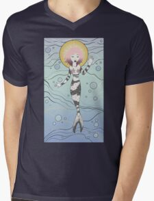 Mermaid Mens V-Neck T-Shirt