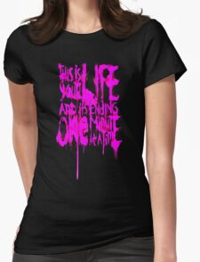 THIS IS YOUR LIFE Womens Fitted T-Shirt