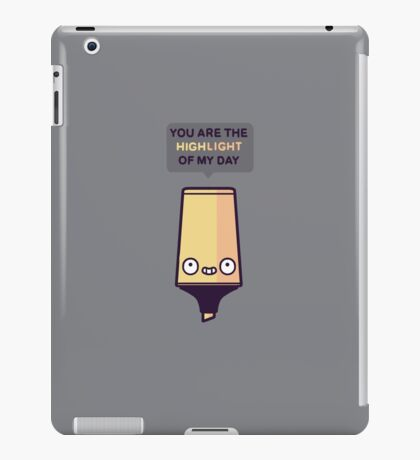Highlight iPad Case/Skin