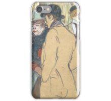 Henri de Toulouse-Lautrec,  ALFRED LA GUIGNE iPhone Case/Skin